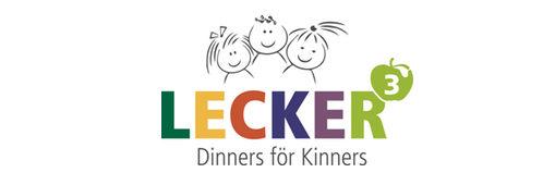 Logo Lecker hoch drei