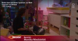 Fernsehen porträtiert zum Welt Down Syndrom Tag