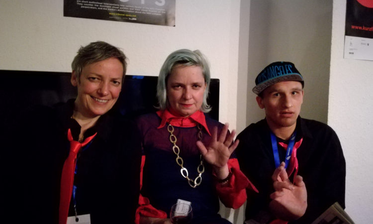 Mariola Brillowska, Danny Schulz und Caroline Gempeler