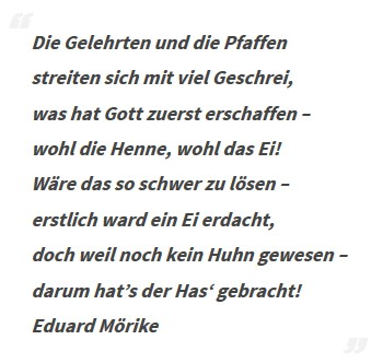 Gedicht von Eduard Mörike