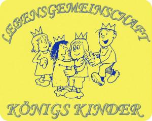 Lebensgemeinschaft Königskinder (Logo)