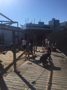 Ein neuer Dachgarten für die Kita Piraten-Nest in St. Pauli