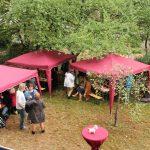 Sommerfest im schönen Hinterhof in St. Georg