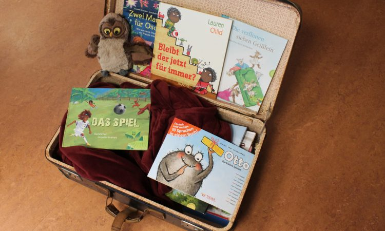 Ein Bücherkoffer für die Kinder in Billwerder
