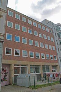 Geschäftsstelle in der Brennerstraße in St. Georg