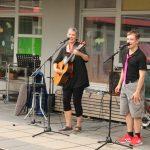 Live-Auftritt von ICH BIN HIER in kleiner Besetzung