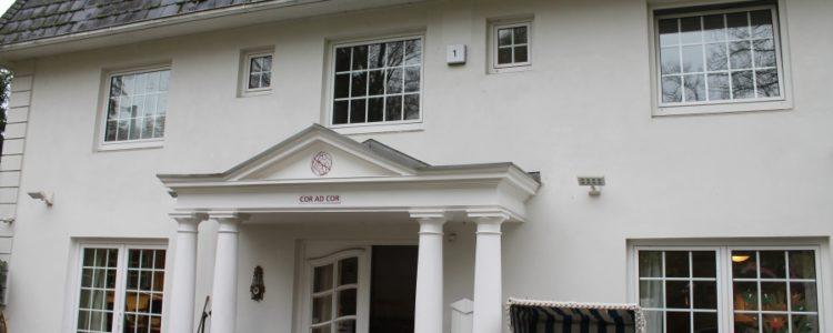 Die AWG Timms Hege befindet sich in einem schönen älteren Haus