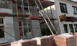 Renovierungsarbeiten in den sozialen Angeboten in Langenhorn im Sommer 2020