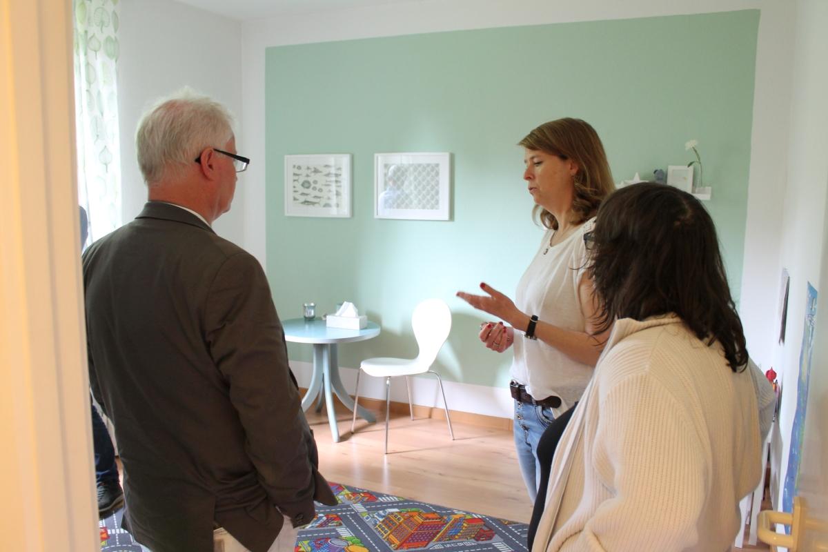 Verwaltungsrat zu Besuch in der ambulanten Jugendhilfe und Sozialraumarbeit in Langenhorn