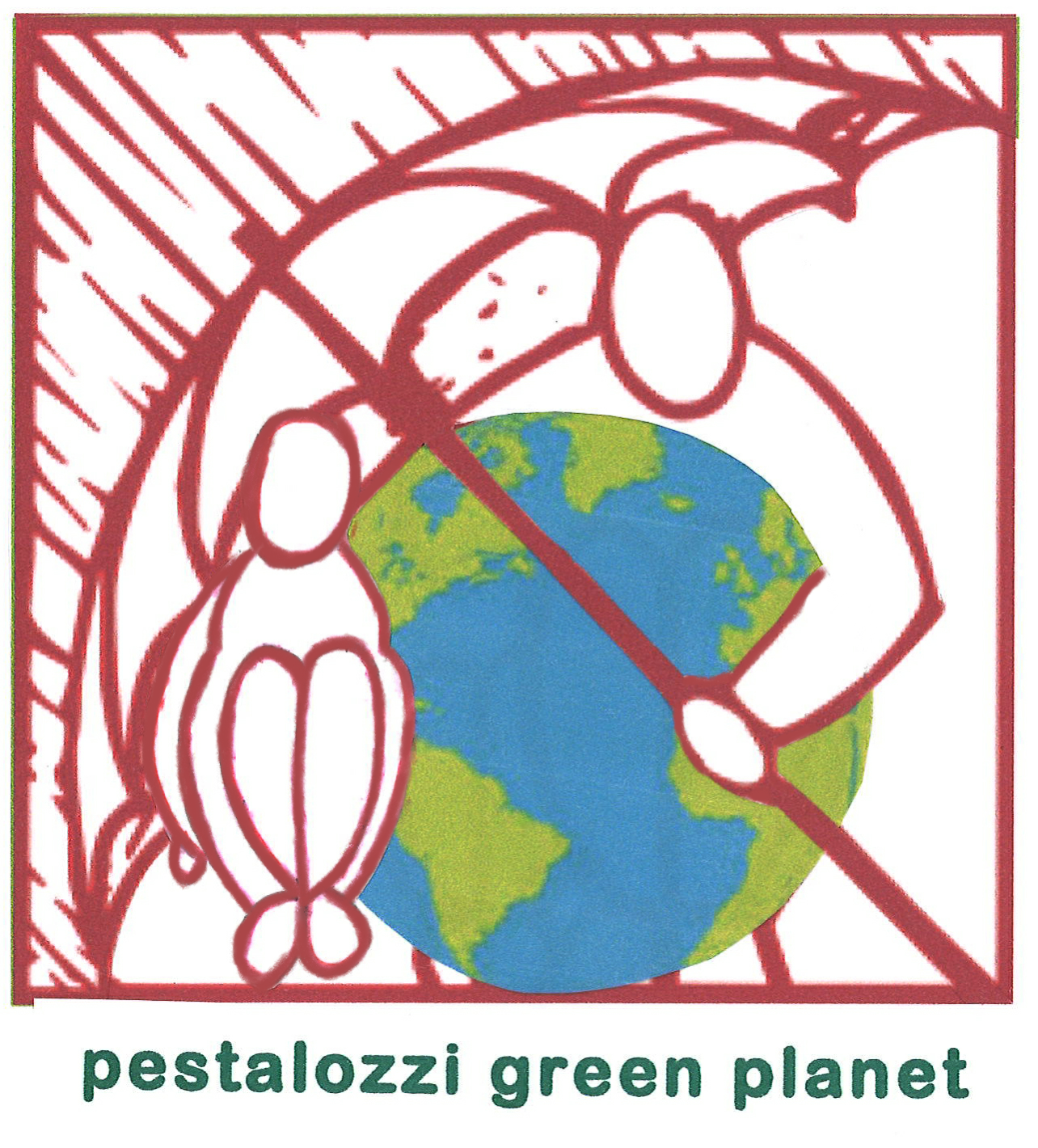 "Logo ""Pestalozzi Green Planet"""