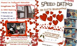 Speed Dating Altona: Flyer vorne