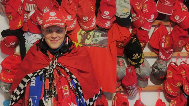 Yannick aus der AWG Timms Hege in Ohlstedt ist großer Formel 1-Fan