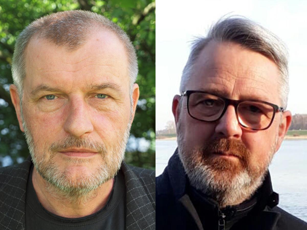 Christian Violka (l.) & Jörg Röskam (r.)